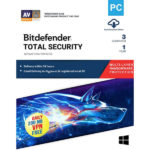 BitDefender Total Security 2019 3 User 1 Year